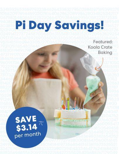 KiwiCo Pi Day Sale – Save $3.14 Per Month!