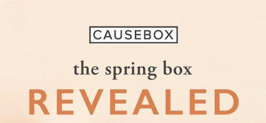 LAST DAY! CAUSEBOX Spring 2019 Box $13 Off Coupon Code + FULL Spoilers
