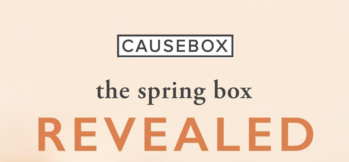 CAUSEBOX Spring 2019 Box $15 Off Coupon Code + FULL Spoilers