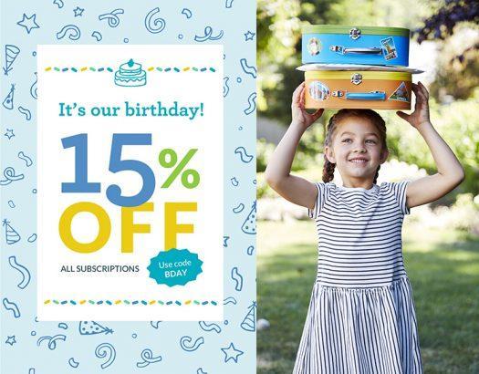 Little Passports Birthday Sale - Save 15%!