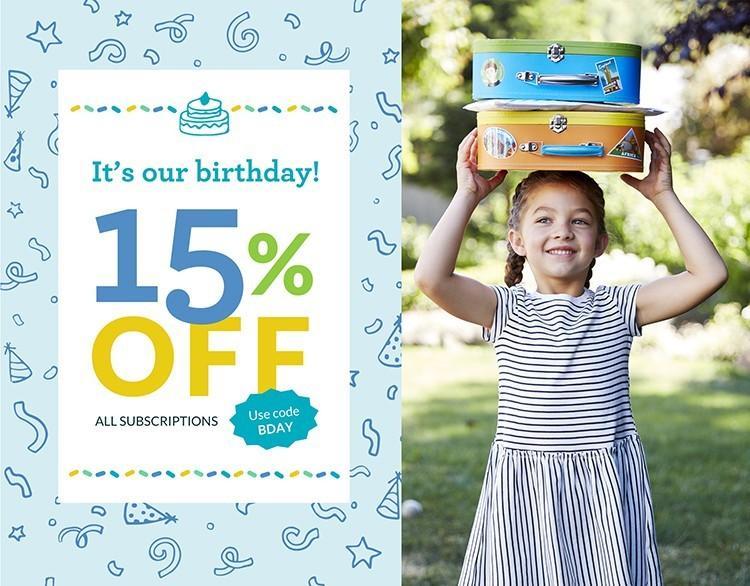 Little Passports Birthday Sale – Save 15%!