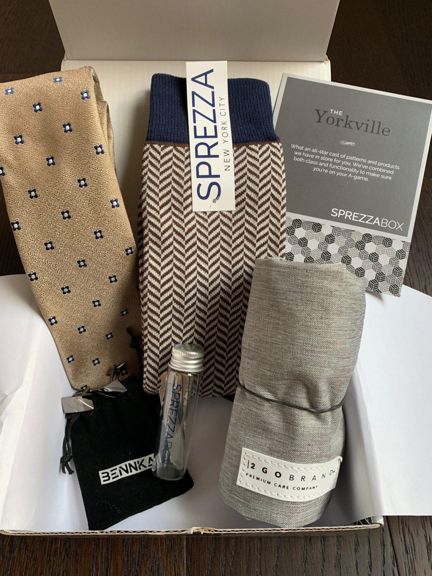 SprezzaBox Review + Coupon Code – March 2019