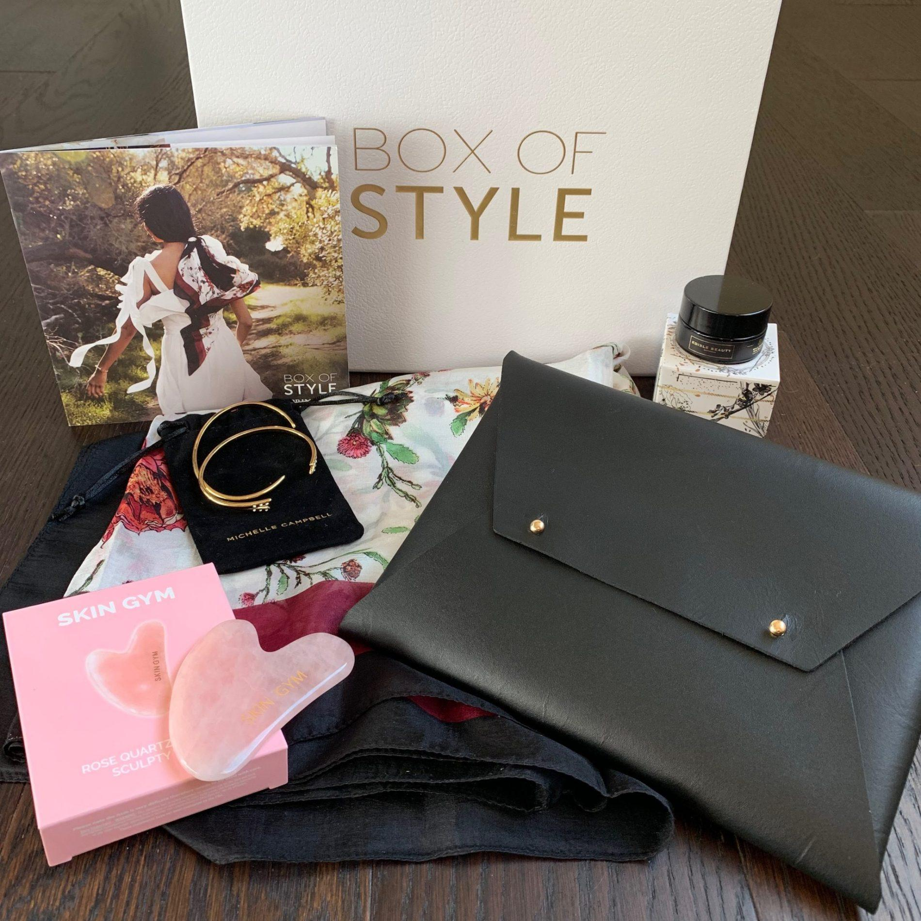 Box of Style Review Spring 2019 + Coupon Code