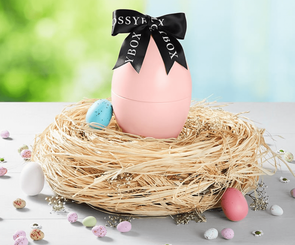 GLOSSYBOX Limited Edition Easter Egg – On Sale Now + Full Spoilers