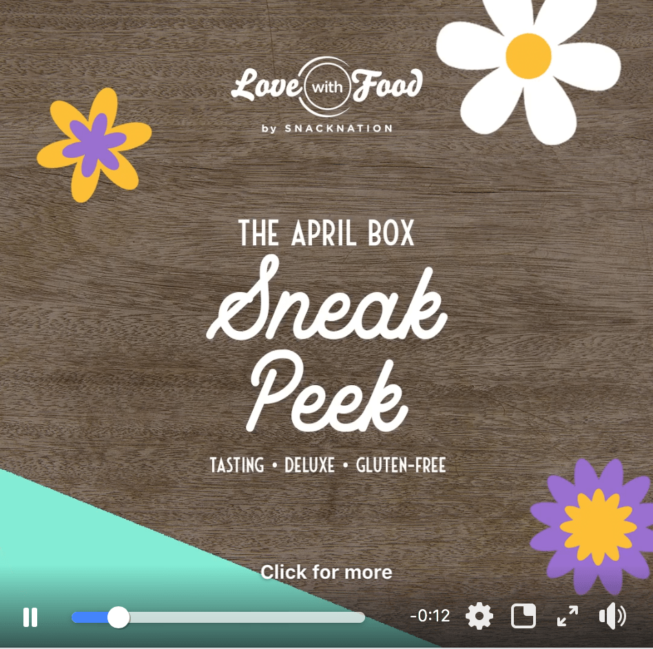 Love With Food April 2019 Spoilers + Coupon Code