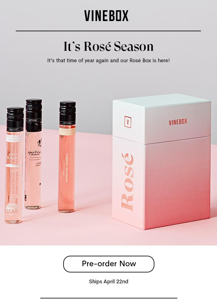 VINEBOX Rosé Collection – Now Available for Pre-Order