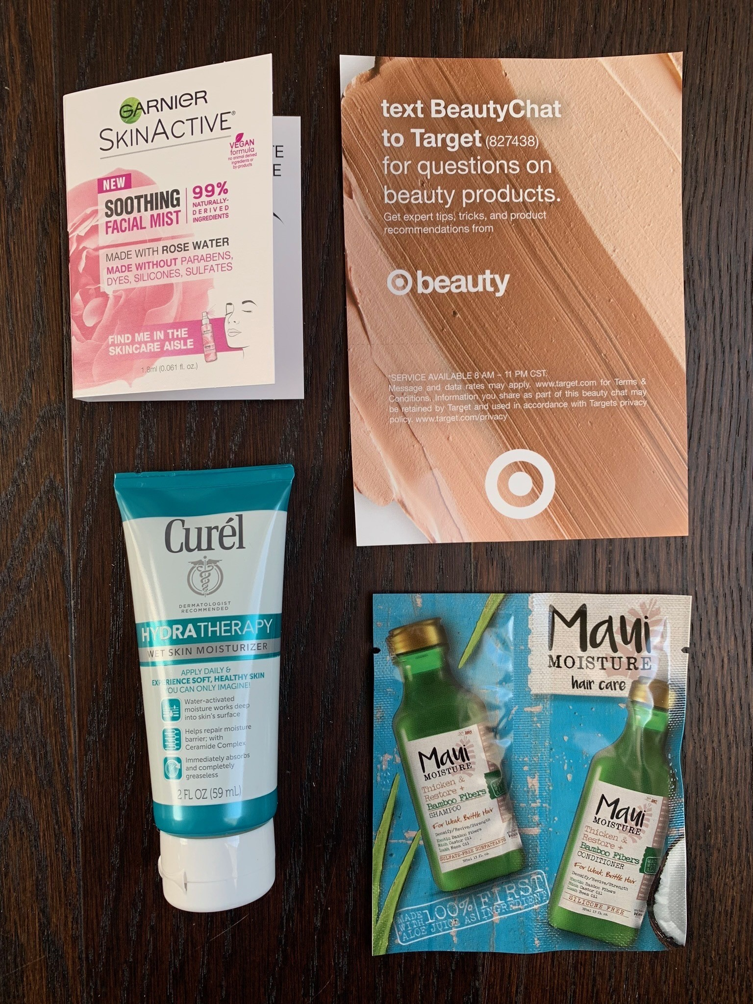 Target Free In-Store Beauty Sample Packet – April 2019