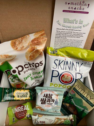 Something Snacks Review – March 2019
