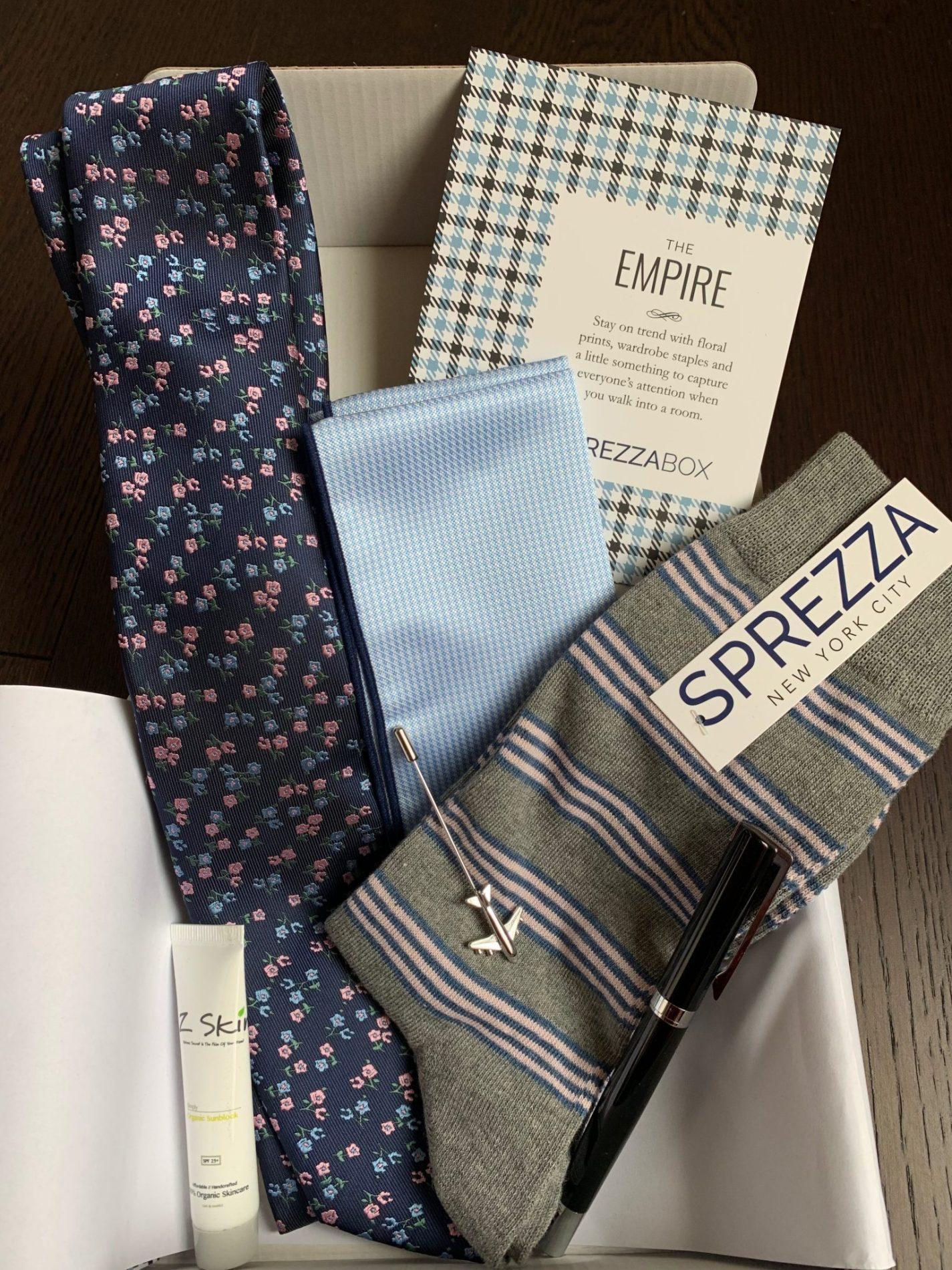SprezzaBox Review + Coupon Code – April 2019