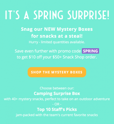 Love With Food Mystery Box Sale!