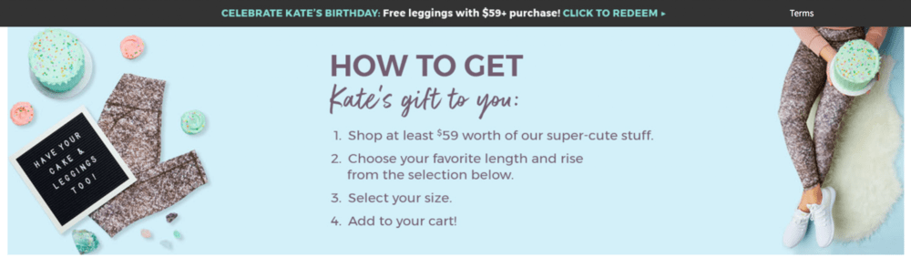 Fabletics Free Leggings with Purchase for VIP Subscribers