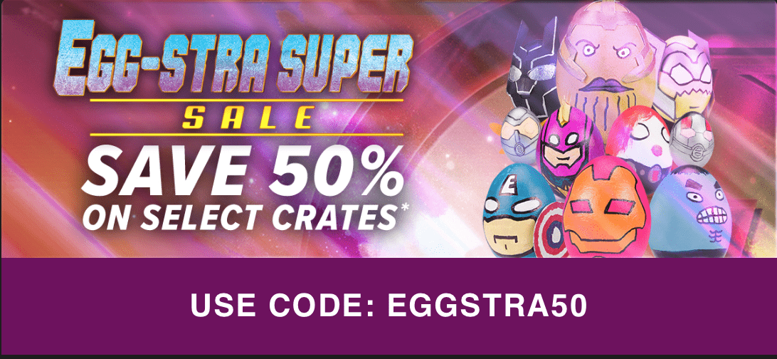LAST DAY! Loot Crate Sale – Save 50% Off Select Crates!