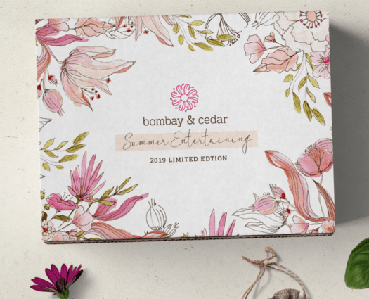 Bombay & Cedar Summer 2019 Limited Edition Box – On Sale Now + Coupon Code