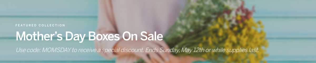 CrateJoy Mother's Day Sale!