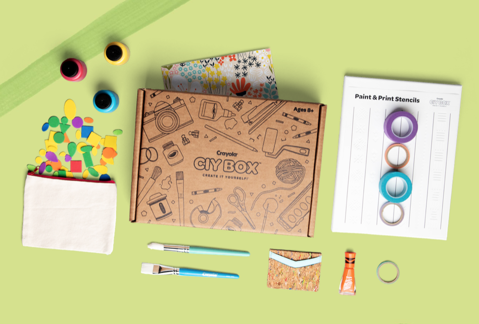 New Box Alert: Crayola CIY Box
