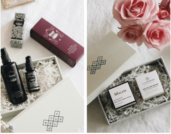 Boxwalla Mother's Day Face and Body Ritual Set Box – On Sale Now