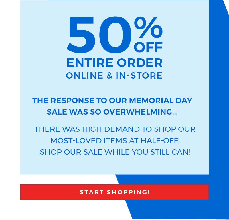 EXTENDED! Fabletics Memorial Day Sale – Save 50% Off!