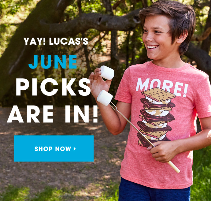 June 2019 FabKids Selection Time + New Subscriber Offer