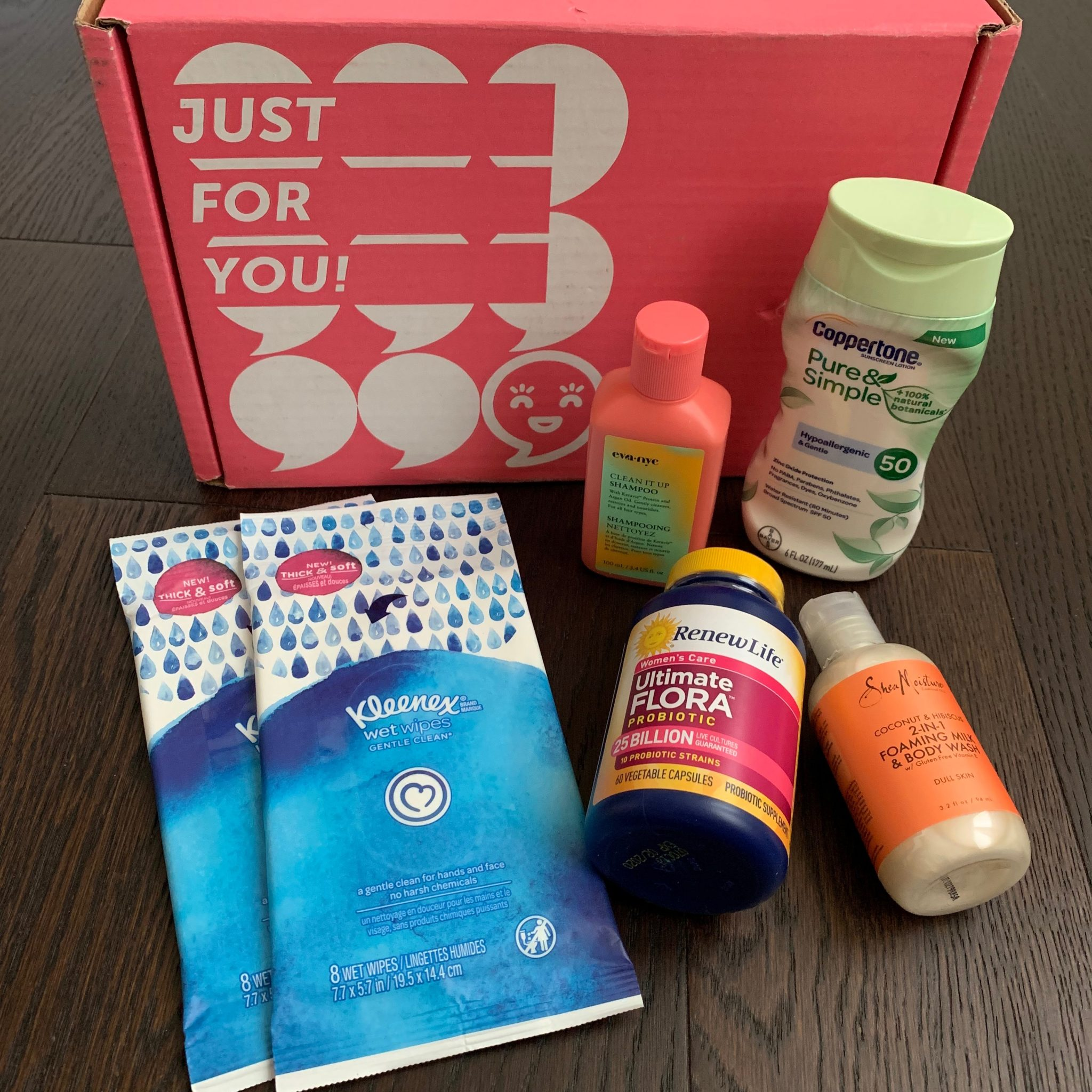 Influenster Celebrate Moms Voxbox Review