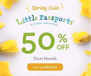 Little Passports Coupon Code – Save 50% Off Your First Month!!