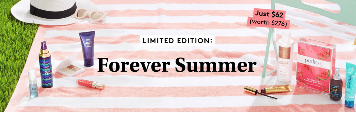 Birchbox Limited Edition: The Forever Summer Limited Edition Box  – On Sale Now + Coupon Codes!