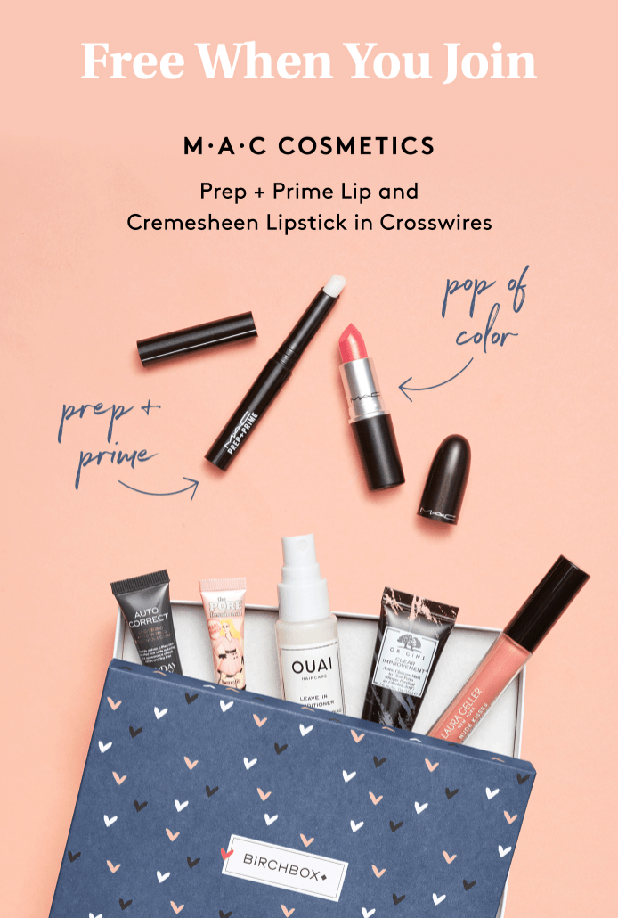 Birchbox Coupon – FREE MAC Duo with New Subscriptions