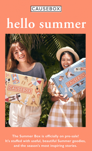 CAUSEBOX Summer 2019 Box On Sale Now + Coupon Code!