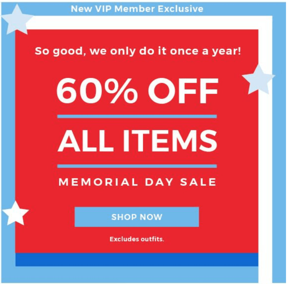Fabletics New VIP Member Memorial Day Sale – Save 60% Off!