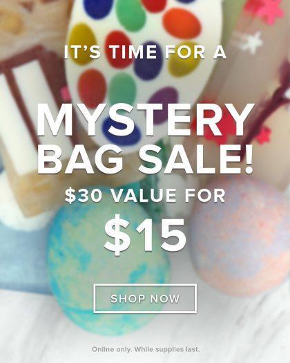 Basin $15 Mystery Bag Sale!