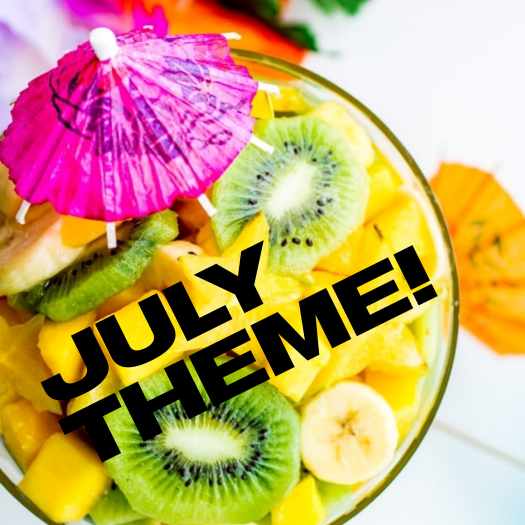 Fruit for Thought July 2019 Theme Reveal