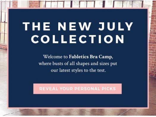 Fabletics July 2019 Selection Time + 2 for $24 Leggings Offer