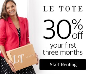Le Tote Coupon – 30% Off Your First Three Months!