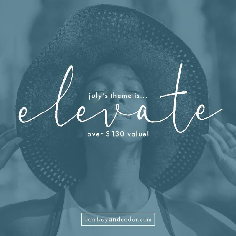 Bombay & Cedar July 2019 Theme Reveal + Spoiler #1 + Free Gift