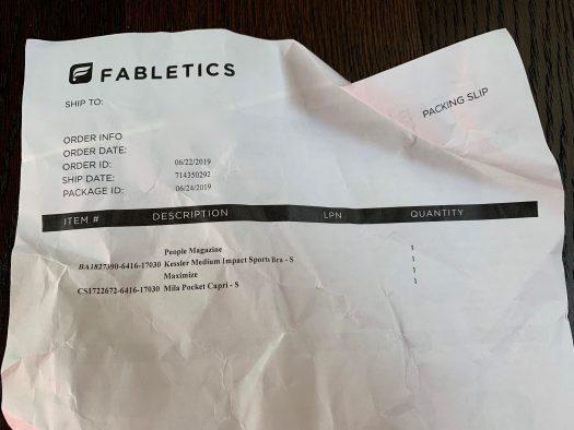 Fabletics Subscription Review - June 2019 + 2 for $24 Leggings Offer