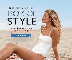 Box of Style by Rachel Zoe 4th of July Sale – Save $30 + Free Beauty Bundle!!