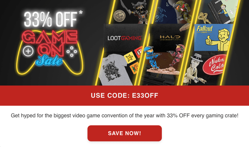 Loot Crate Sale – Save 33% Off Select Crates!
