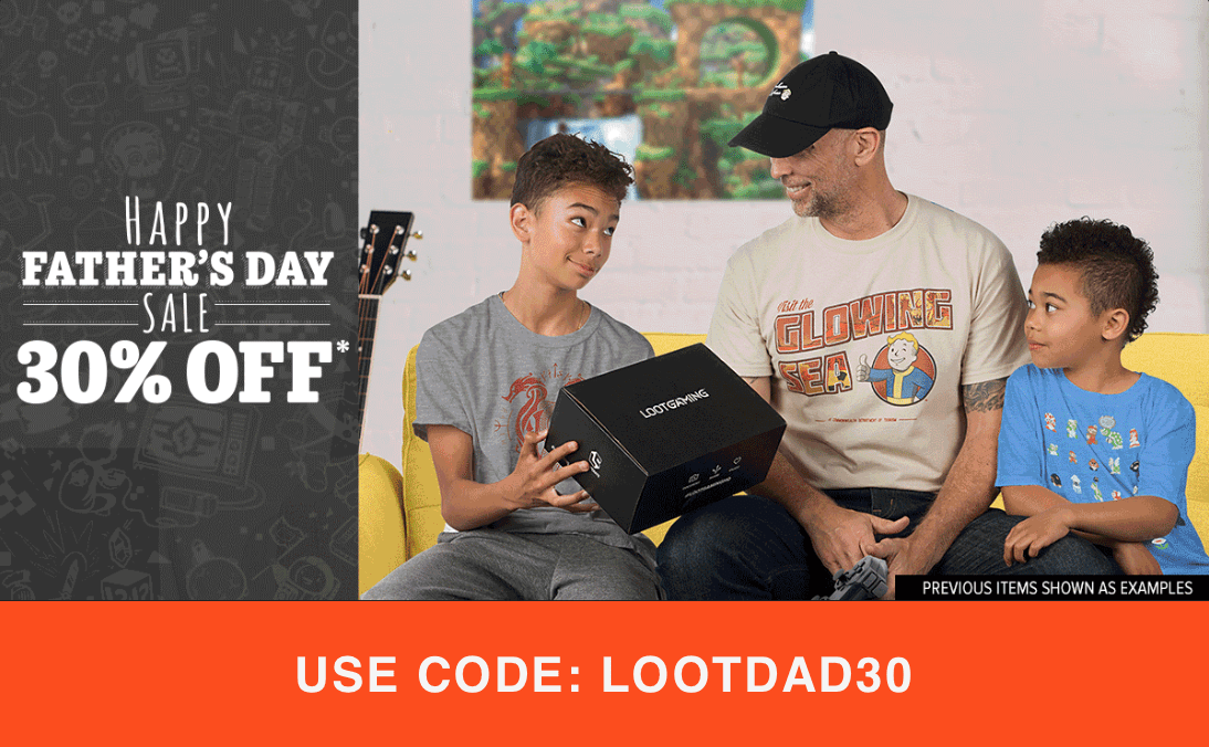 Loot Crate Father's DaySale – Save 30% Off Select Crates!
