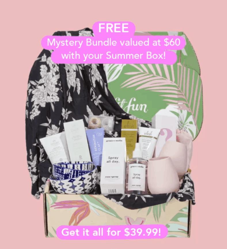 FabFitFun Sale – Save $10 + Get a FREE Mystery Bundle