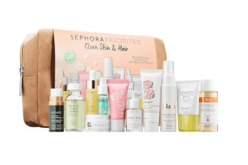 SEPHORA Favorites – Clean Skin & Hair Kit – On Sale Now