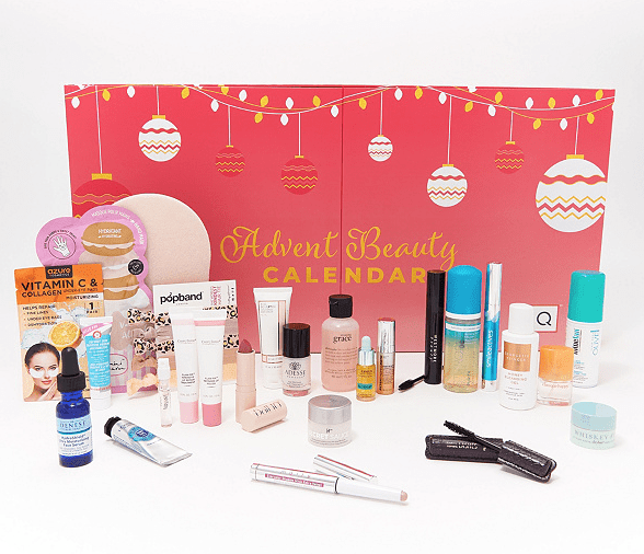 QVC Beauty Christmas in July Advent Calendar 24Pc Collection – On Sale Now