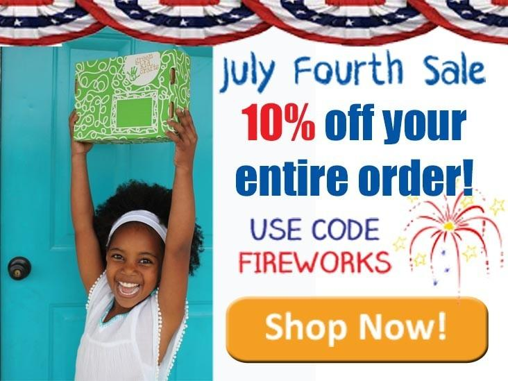 Green Kid Crafts – 10% Off 4th of July Sale!
