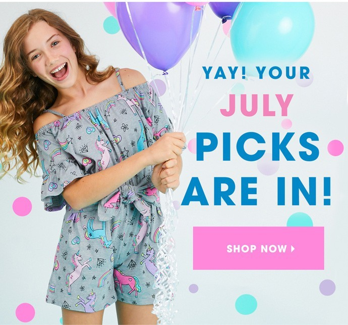 August 2019 FabKids Selection Time + New Subscriber Offer