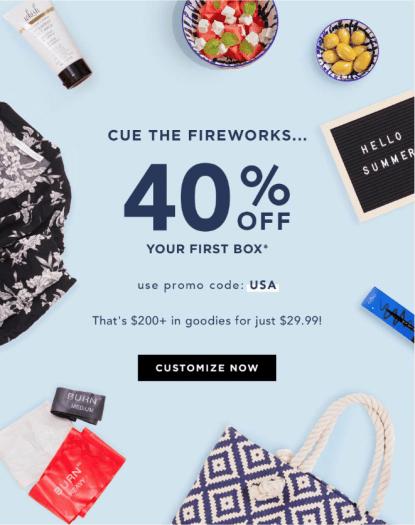 FabFitFun 4th of July Sale – Save 40% off the Summer Box!