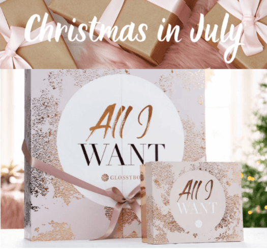 GLOSSYBOX Christmas in July Sale!