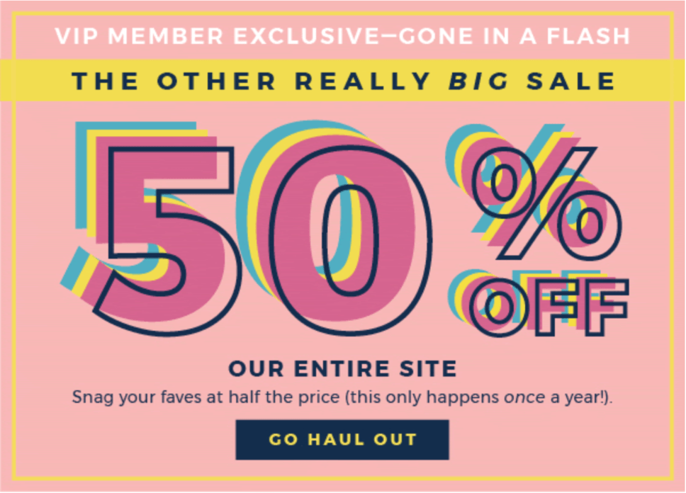 Fabletics Sale – Save 50% Everything!