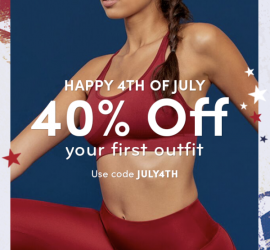 Ellie 4th of July Coupon Code - Save 40% Off Your First Month