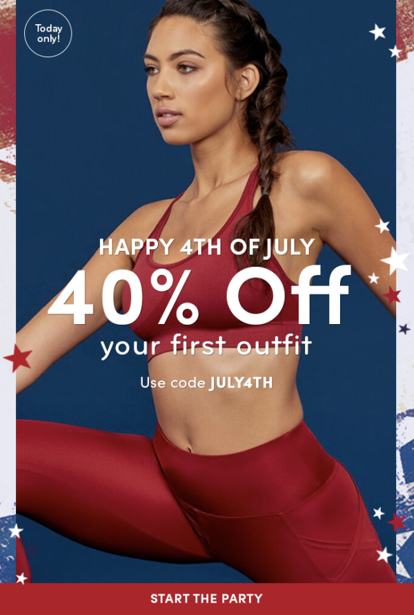 Ellie 4th of July Coupon Code – Save 40% Off Your First Month