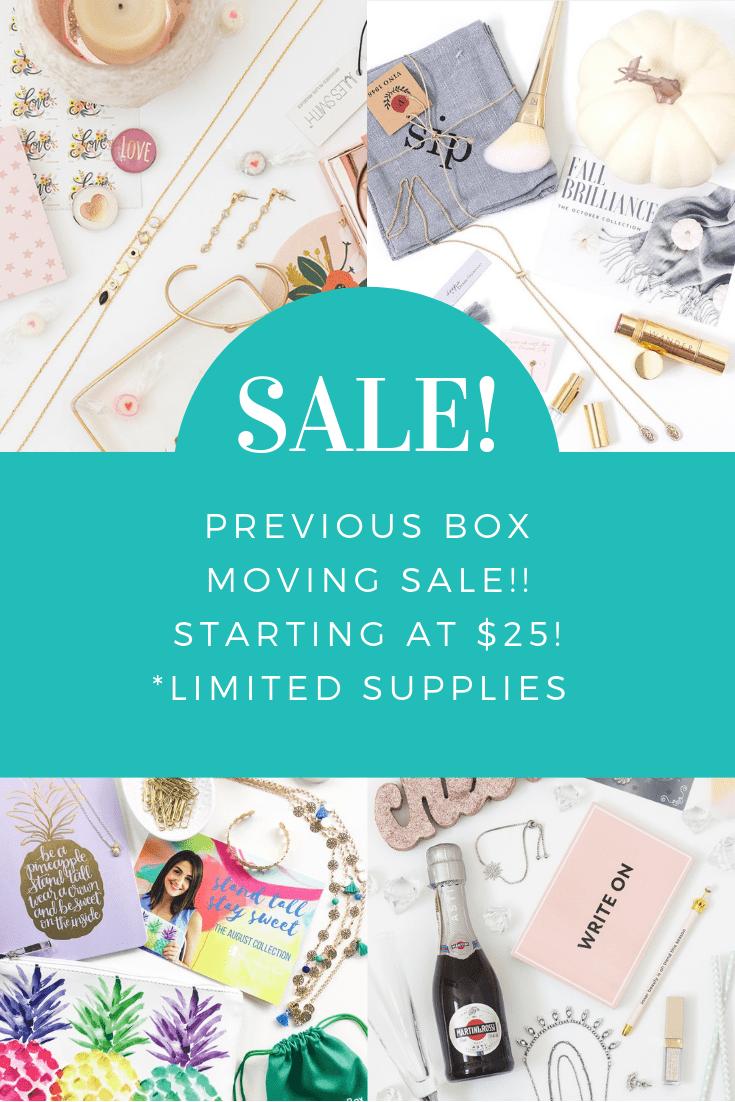Your Bijoux Box $25 Past Box / Bundle Sale