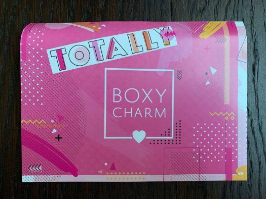 August 2019 BOXYCHARM