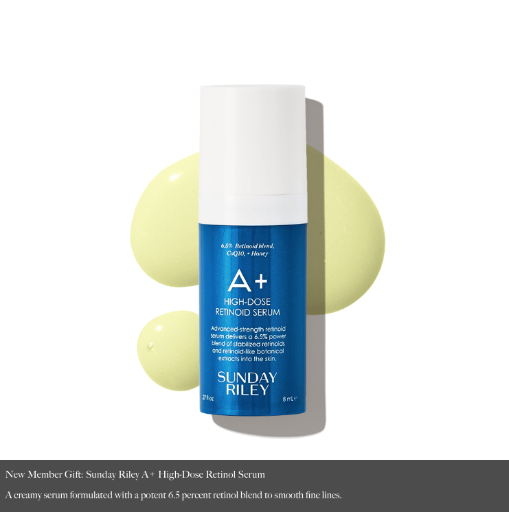 Allure Beauty Box Coupon Code – FREE Sunday Riley A+ High-Dose Retinol Serum